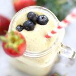 Metabolism Boosting Strawberry Kale Smoothie