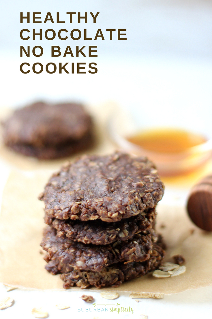 Try these Healthy No Bake Cookies for a wholesome anytime treat! This No Bake Cookie Recipe has no refined sugar, but plenty of fiber and protein and can be whipped up in minutes!
