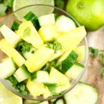 Easy Pineapple Cucumber Salad (with Video)