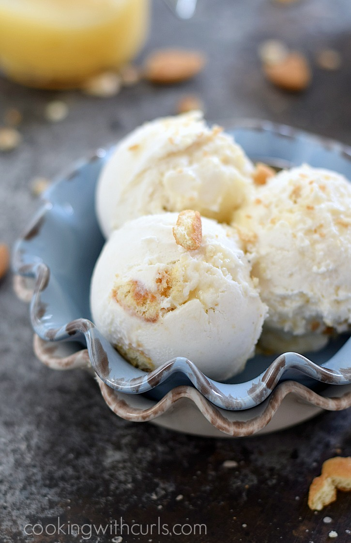 ice cream in a bowl