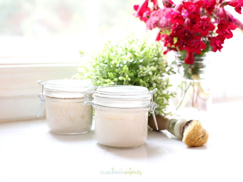 How to make a body scrub at home.