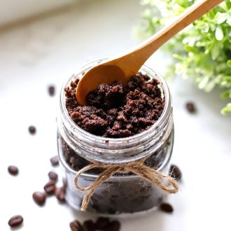 You need a Coffee Sugar Scrub in your life! Treat yourself to arefreshing spa-like DIY that's wonderful for exfoliation and pampering! Makes a great gift, too!