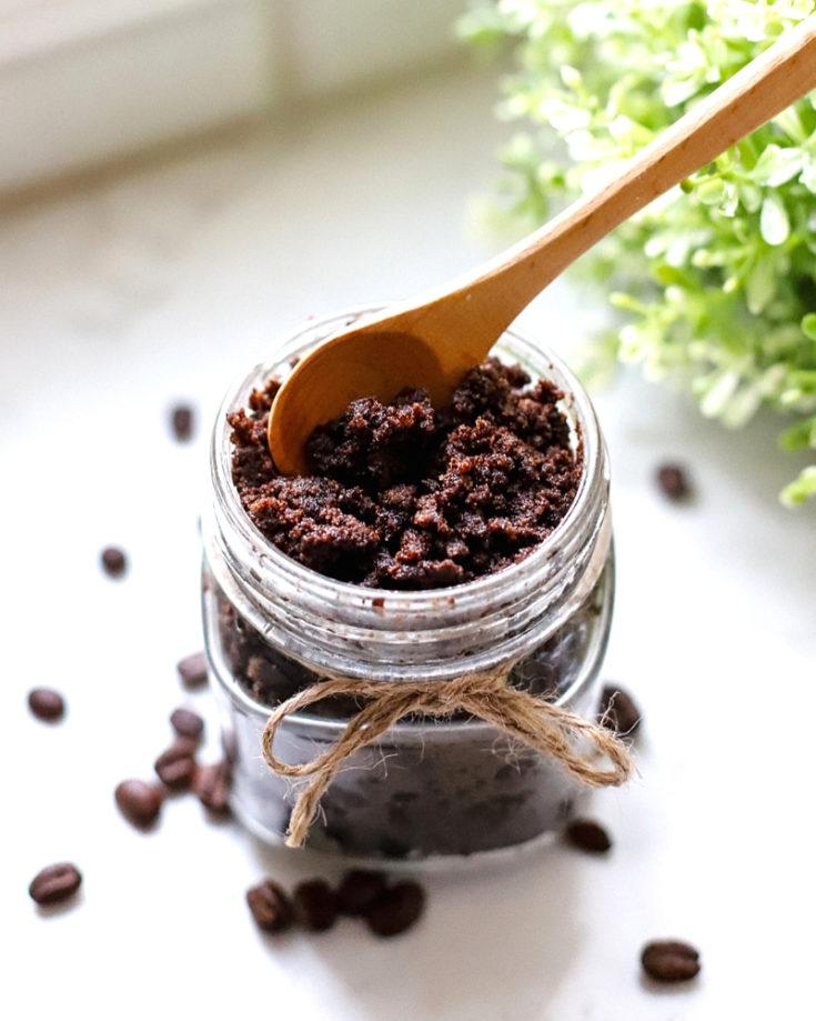 Coffee Sugar Scrub DIY