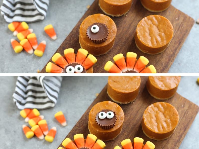 Candy to make Pumpkin Pie Turkeys