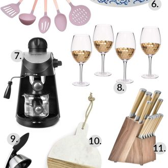 Here are the Best Kitchen Gifts for the cooks and foodies in your life! These delicious gadgets, appliances and decor ideas are just what you're looking for!