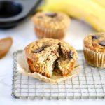 Banana Almond Butter Muffins (GF)