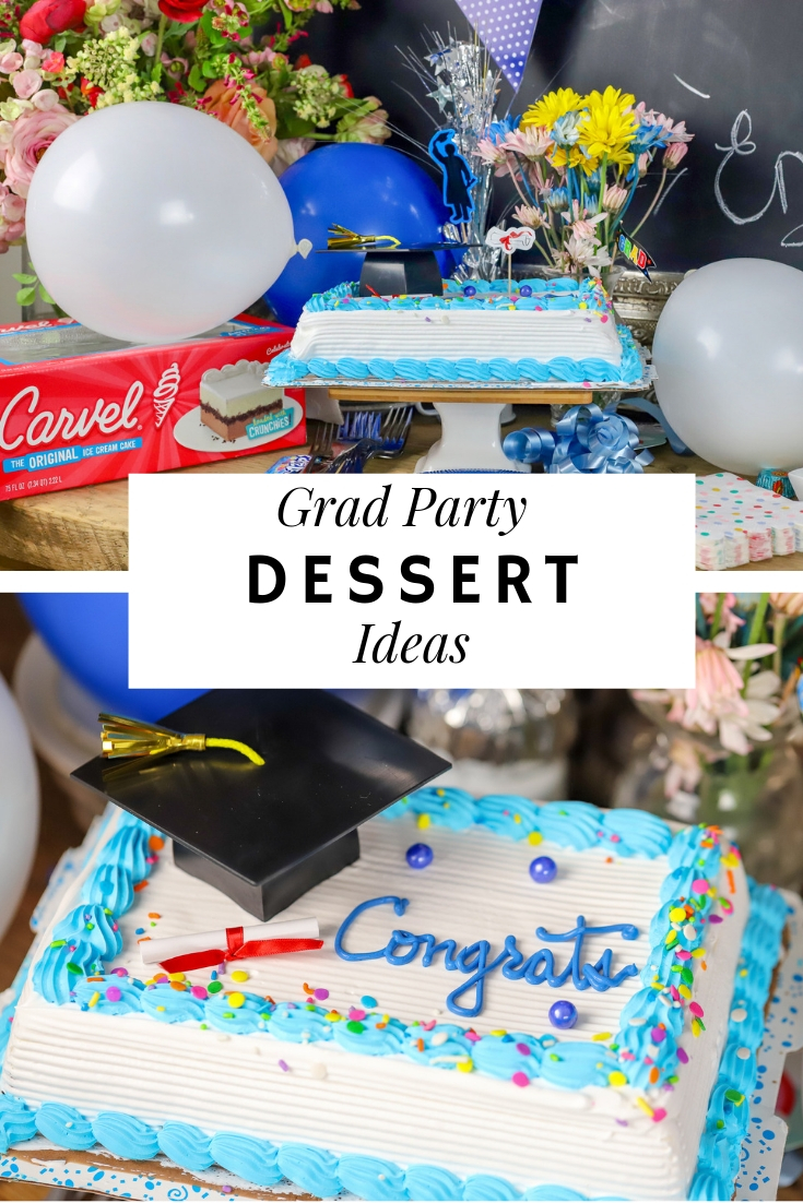 No matter what kind of grad celebration you're hosting, these Graduation Dessert Party Ideas and Recipes will have guests coming back for more!  #suburbansimplicity #graduation #graduationparty