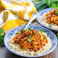 Hawaiian Chicken {Slow Cooker + Instant Pot}