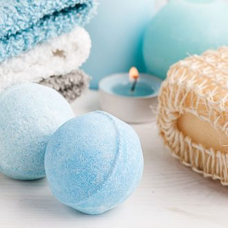 Here's an easy tutorial for how to make a Bath Bomb Recipe (with video). With a few simple ingredients, you can relax in a warm bath with an awesome fizzy DIY creation. It makes a great gift idea!
