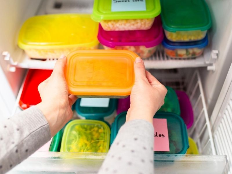 Freezer items for back to school