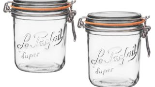 Le Parfait Wide Mouth Glass Jars [4]