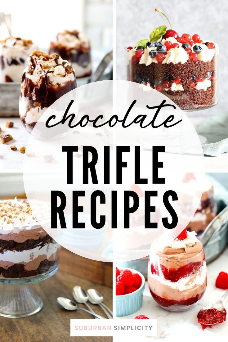 Chocolate Trifle Recipes