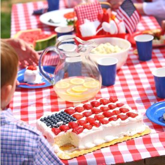 How to host a 4th of July Party with food and games