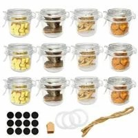 8 oz (250ml) Glass Jars with Airtight Lids