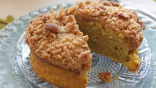 Pumpkin Coffee Cake For One