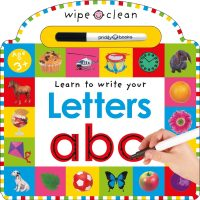Wipe Clean: Letters Book