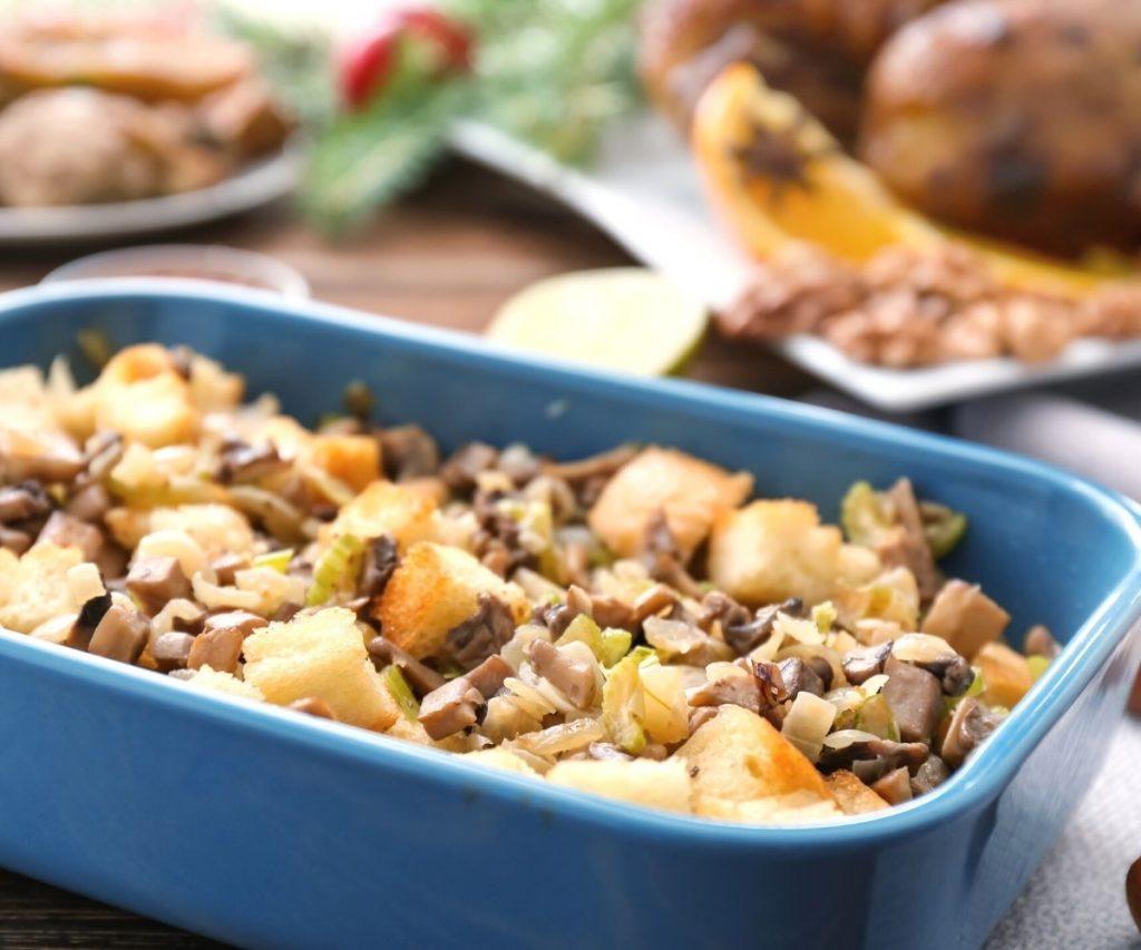 Turkey Stuffing Leftovers