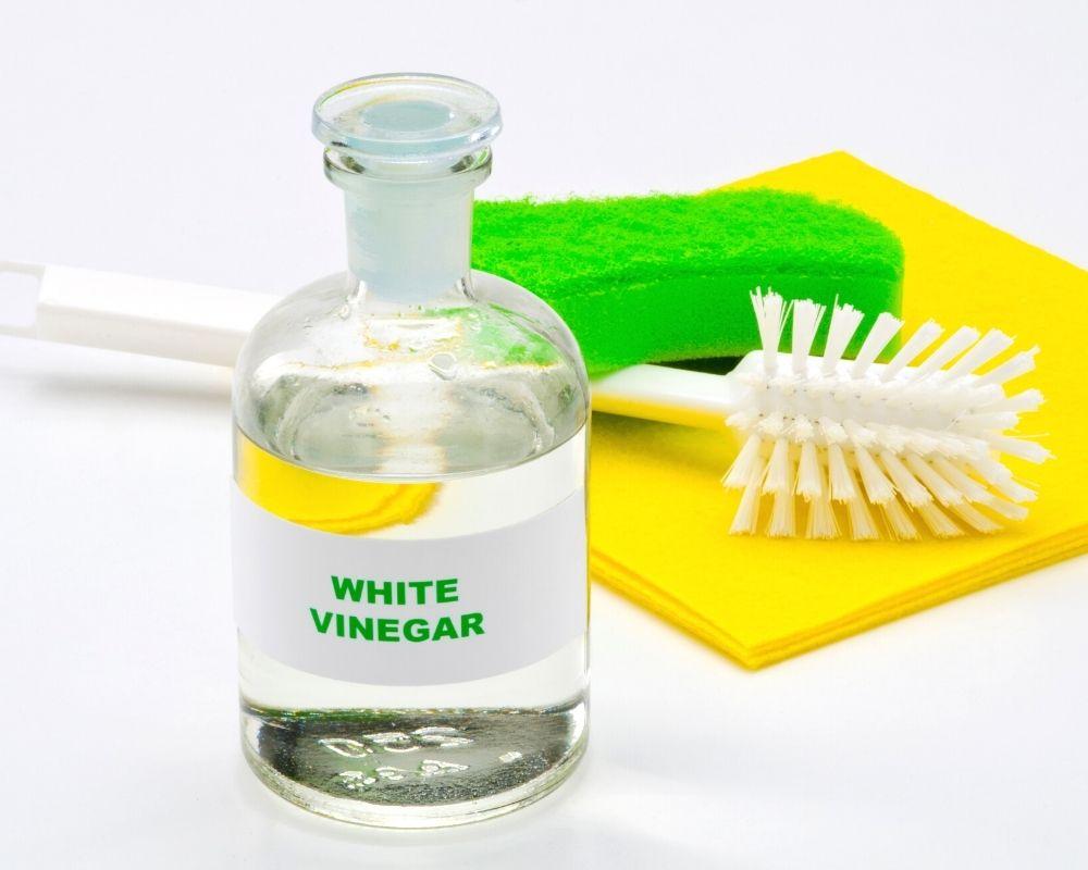 bottle of vinegar