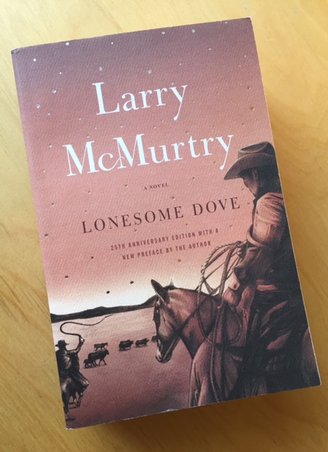 Lonesome Dove is on my Reading Challenge 2018 List!