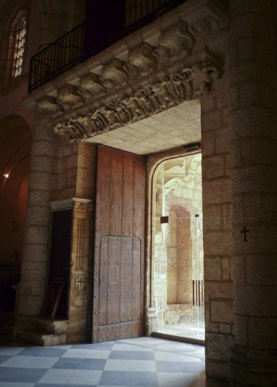 Doors of the Cathedral in Santo Domingo ST