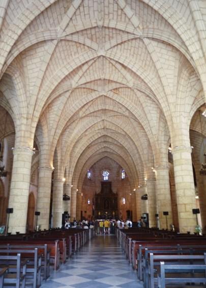 Interior Cathedral Santa Maria le Menor Santo Domingo sm2