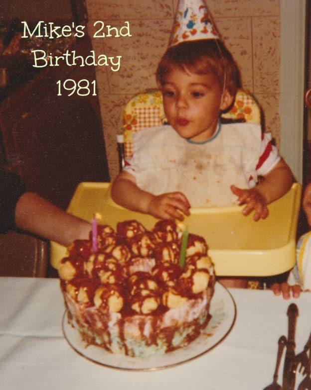 Sundae Bubble Crown Cake 1981