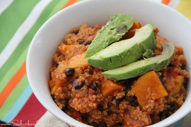 Sweet Potato Quinoa Chili (Vegan)