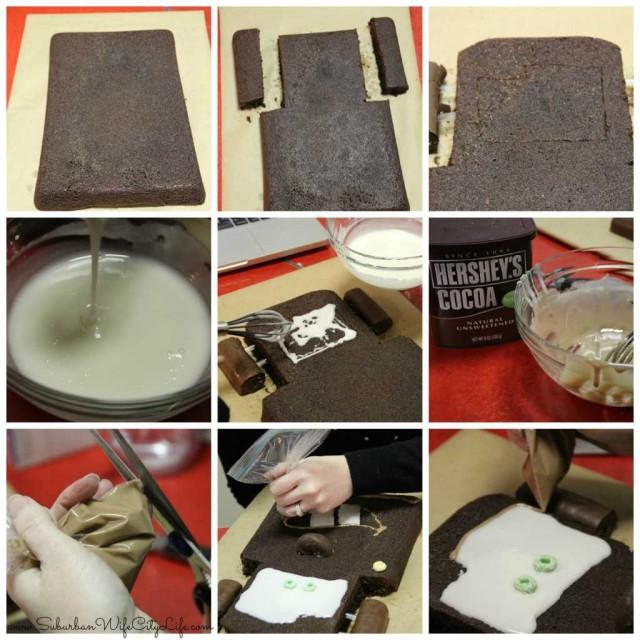 Mater cake steps