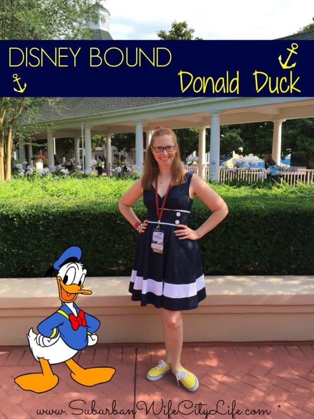 Disney Bound Donald Duck