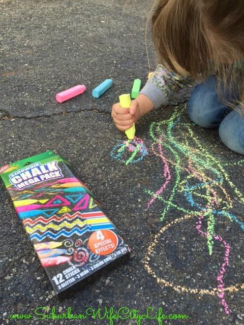 Educational games sidewalk chalk