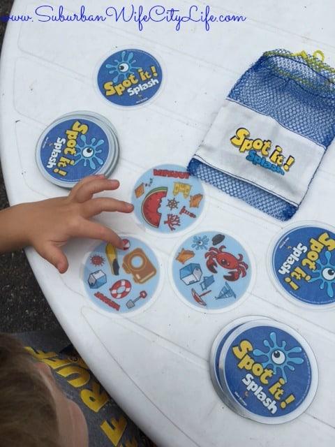 Educational toys Spot it Splash