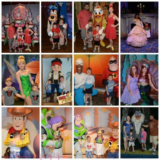 Disney Memory Maker Characters