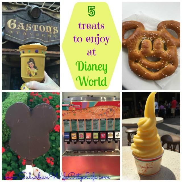 5 treats to enjoy at Disney