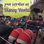 How to find your stroller at Disney World