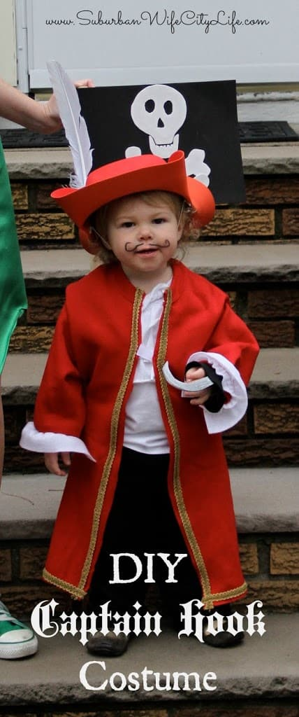 Diy Baby Girl Pirate Costume DIY- Captain Ho...