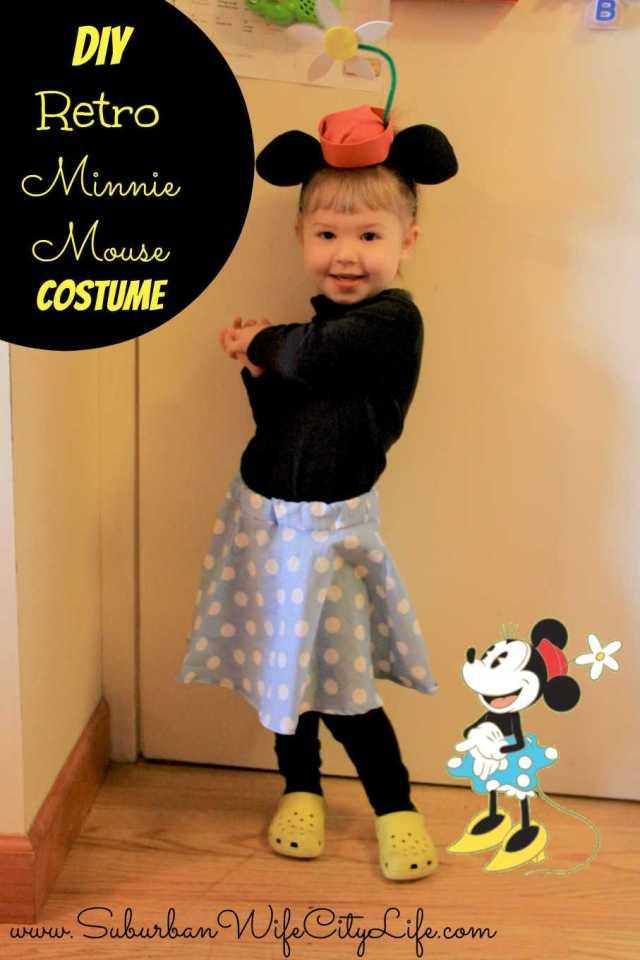 Retro Minnie Mouse Costume