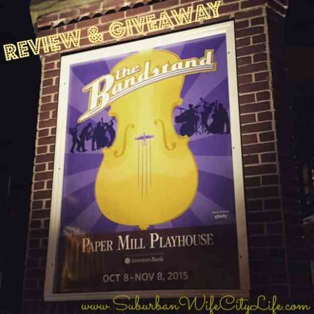 Paper Mill Playhouse The Bandstand Review and Giveaway