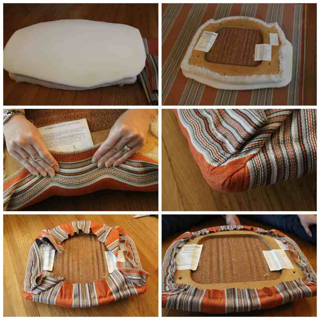 Seat Cushion Steps