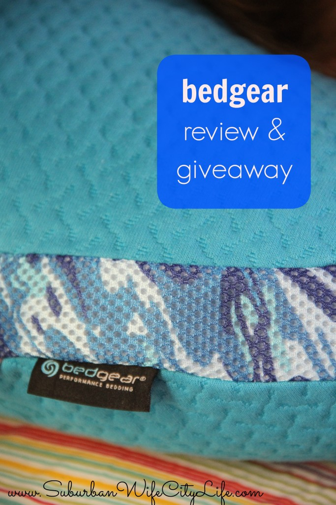 bedgear review & giveaway