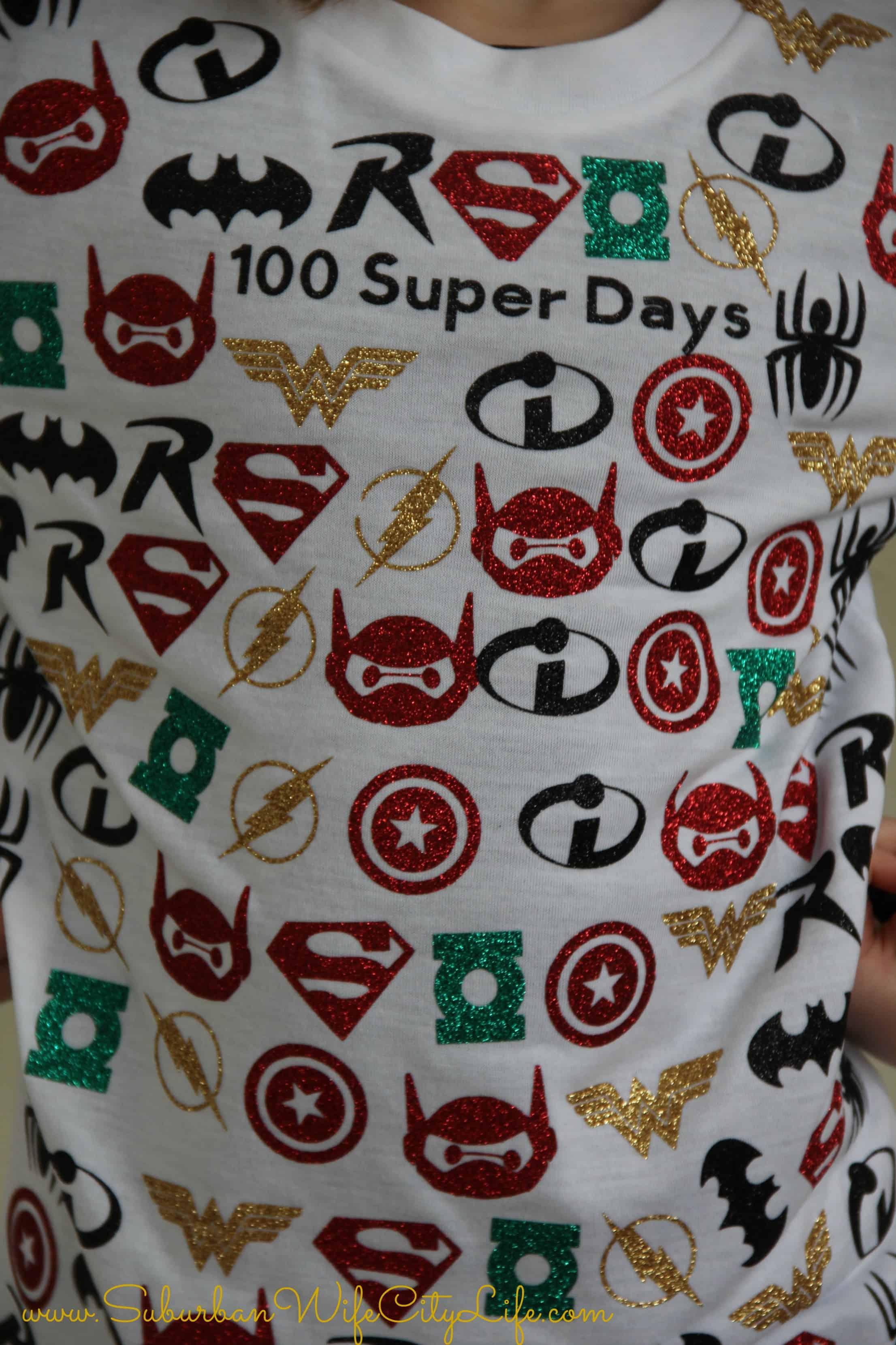 100 Super Days Shirt Suburban Wife City Life
