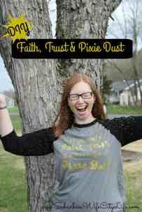Faith, Trust & Pixie Dust DIY shirt
