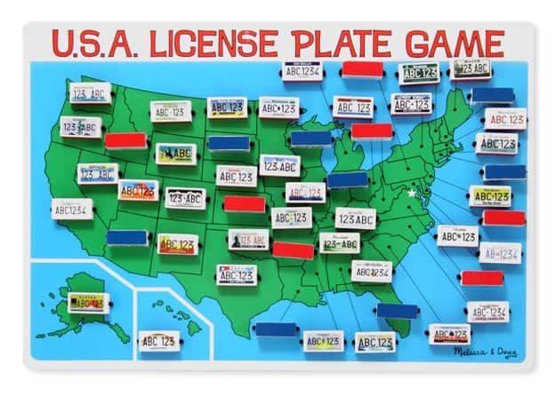 License Plate Game Melissa & Doug