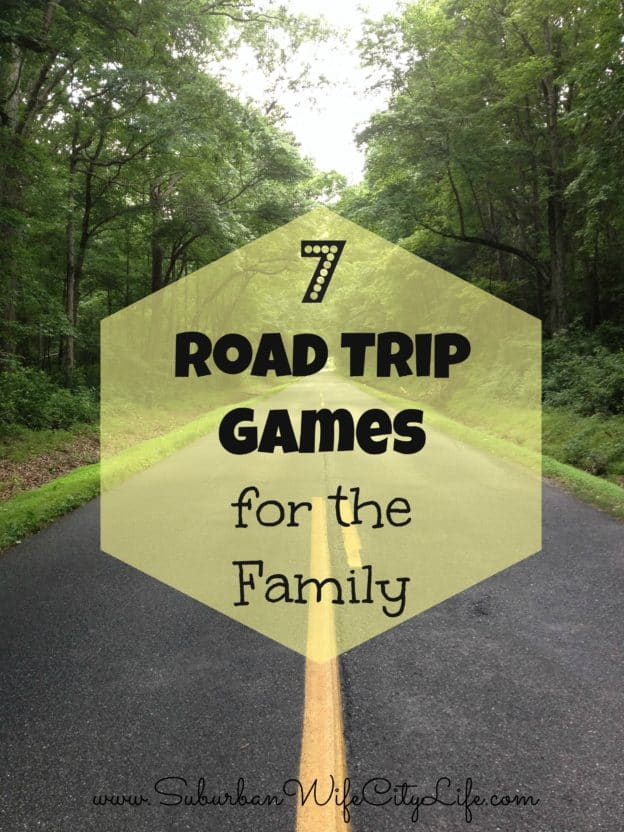 """7 Road Trip Games for the Family"""