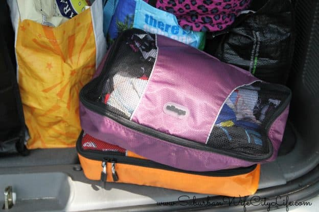 eBags Packing cube makes a great grab and go bag