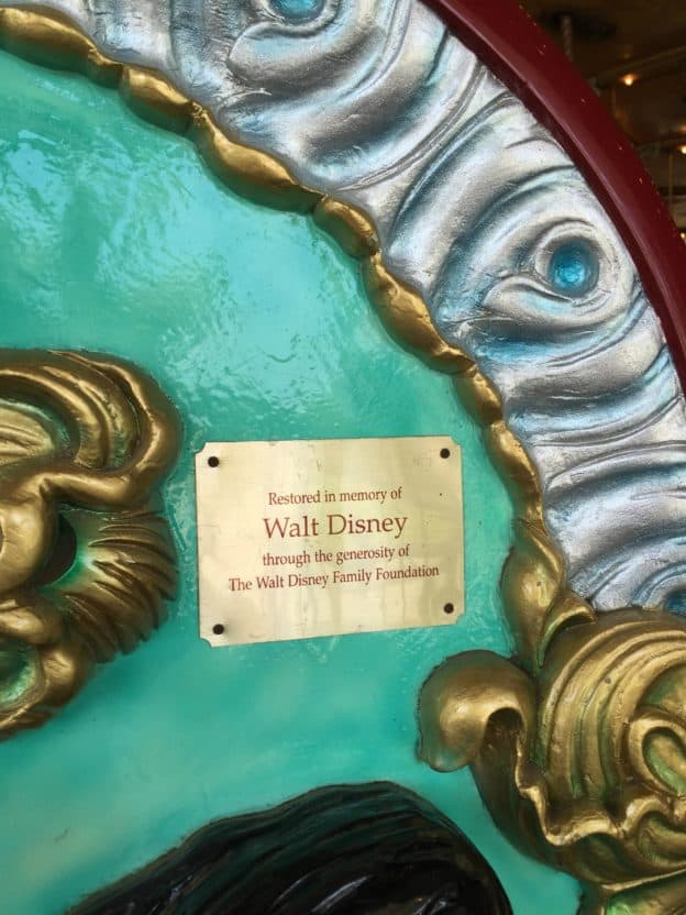 Griffith Park Merry-Go-Round Disney Chaise