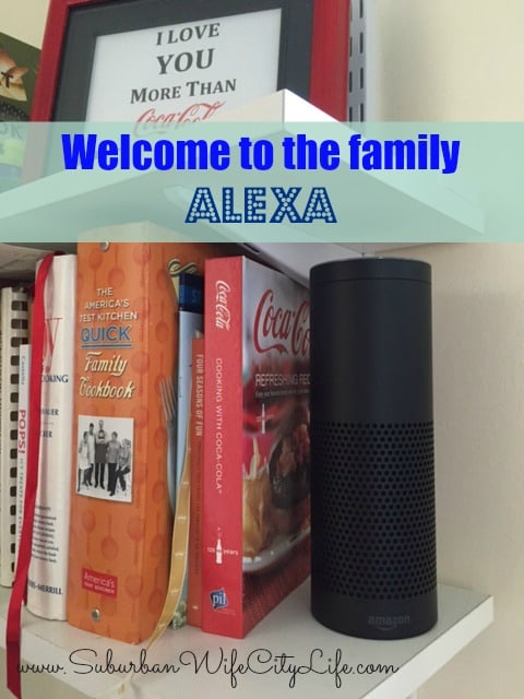 Welcome to the family Alexa