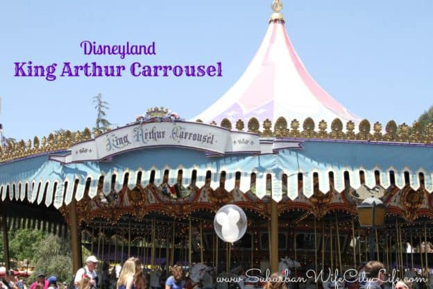 King Arthur Carrousel - Disneyland