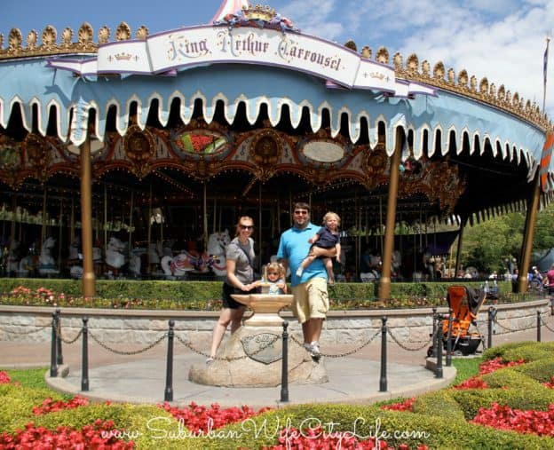 King Arthur Carrousel & Sword and the Stone