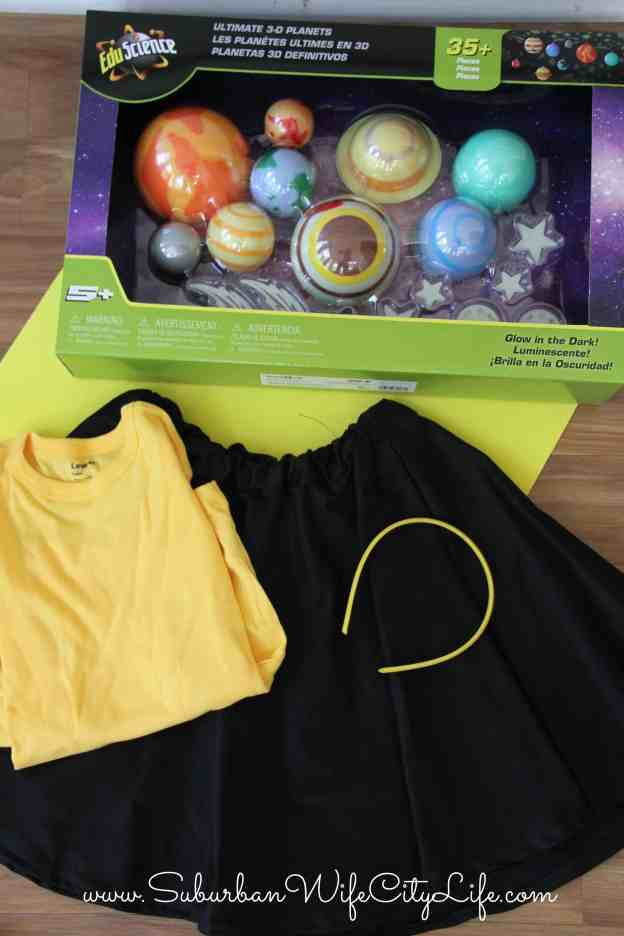 Solar System Costume Supplies