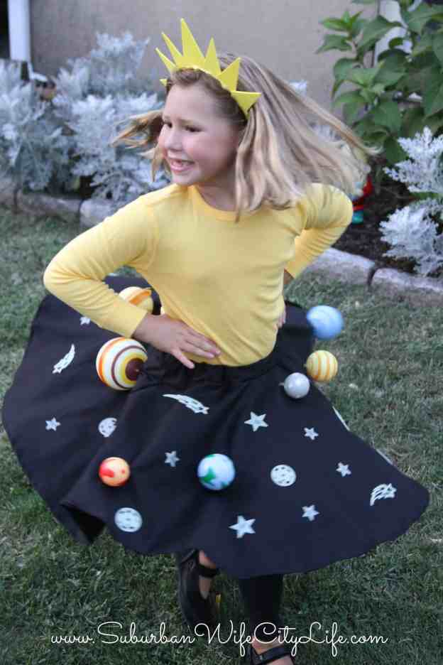 Twirling Solar System skirt